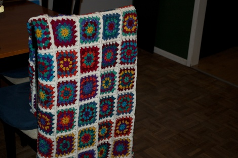 Finished afghan