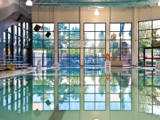 The pool we swim at in Maple Ridge, BC